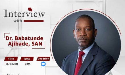 The PALM Interview with Dr Babatunde Ajibade, SAN, Presidential Candidate, Nigerian Bar Association Election 2020.