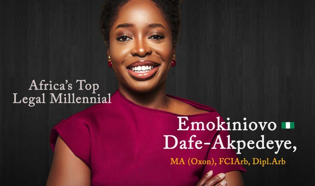 Emokiniovo Dafe-Akpedeye, MA (Oxon), FCIArb, Dipl.Arb: Africa's Legal Millennial